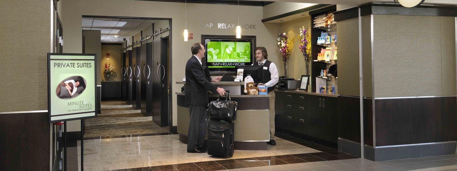 Minute Suites - Philadelphia International Airport PHL