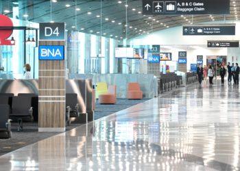 Terminal D of Nashville International Airport